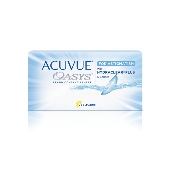 ACUVUE OASYS® for ASTIGMATISM 2-Week Contact Lenses