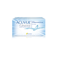 ACUVUE OASYS® 2-WEEK with HYDRACLEAR® PLUS Contact Lenses