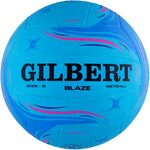 2600 NBAJ17 86886705 Ball Match Blaze Blue Size 5 Side 1