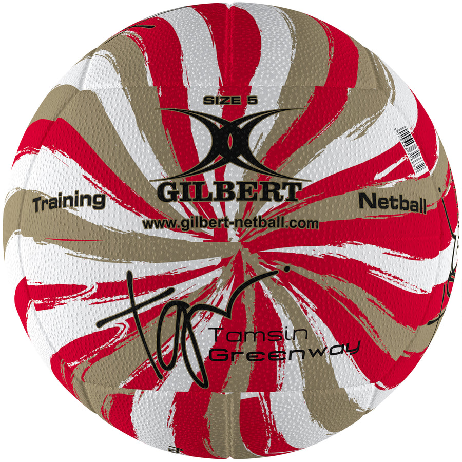2600 NDBA19 86891605 Ball Signature Tamsin Greenway Swirl Gold Size 5, Secondary