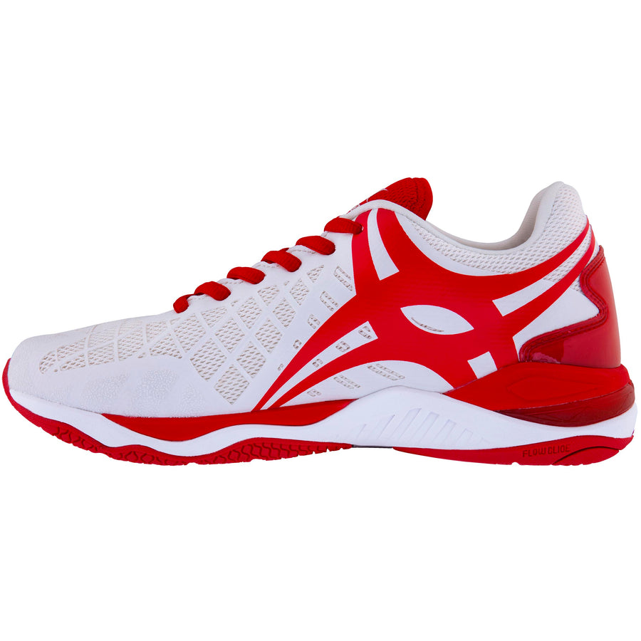 2600 NSAA18 86601622 Shoe Synergie Pro Sz 6 White_red, Instep