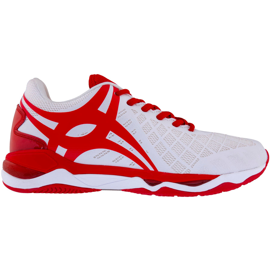 2600 NSAA18 86601622 Shoe Synergie Pro Sz 6 White_red, Outstep