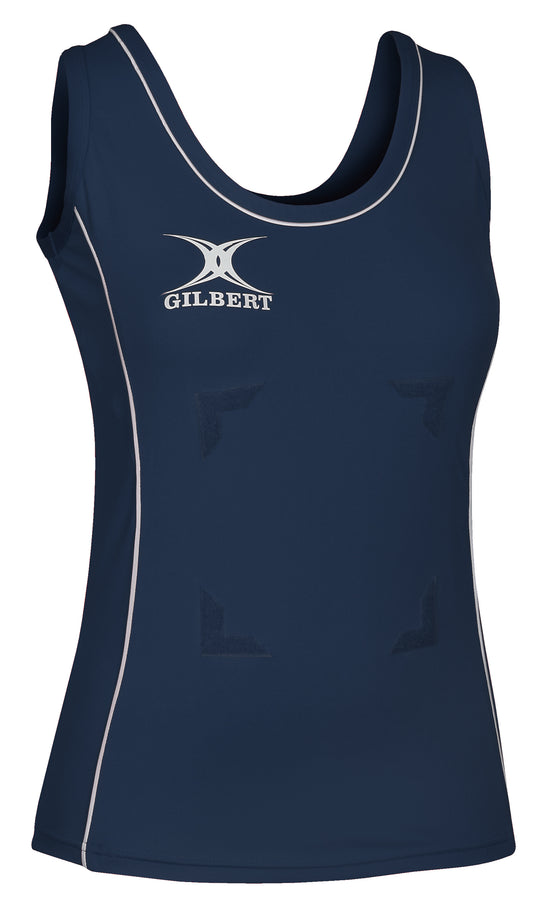 NCDA13PlayingTops Elite Tank Top Navy White