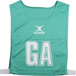 NCEC14NetballBibs Green High 5 Bib
