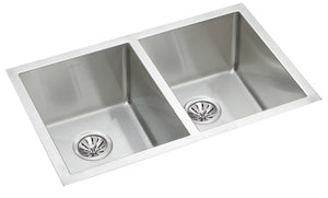 Wessan Stainless-Steel Double Bowl Undermount Sink