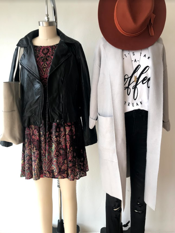 Yellow Umbrella Boutique Bemidji, Minnesota Fall Outfits