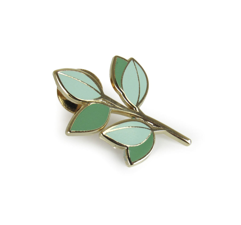 Eucalyptus Branch Pin