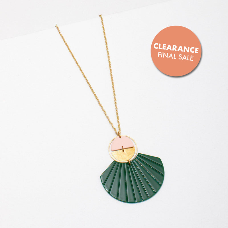Ida Necklace - Green