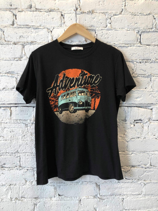 Adventure Van Tee-Tee-Yellow Umbrella