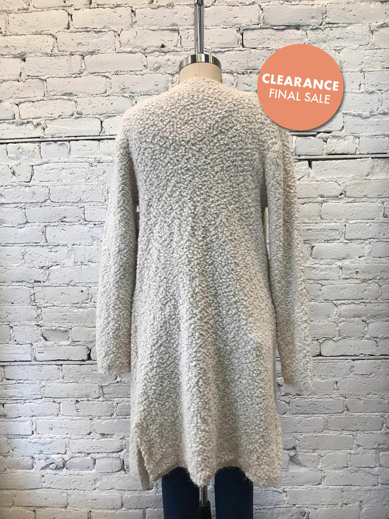 Alpaca Mohair Textured Cardigan/XL-cardigan-Yellow Umbrella