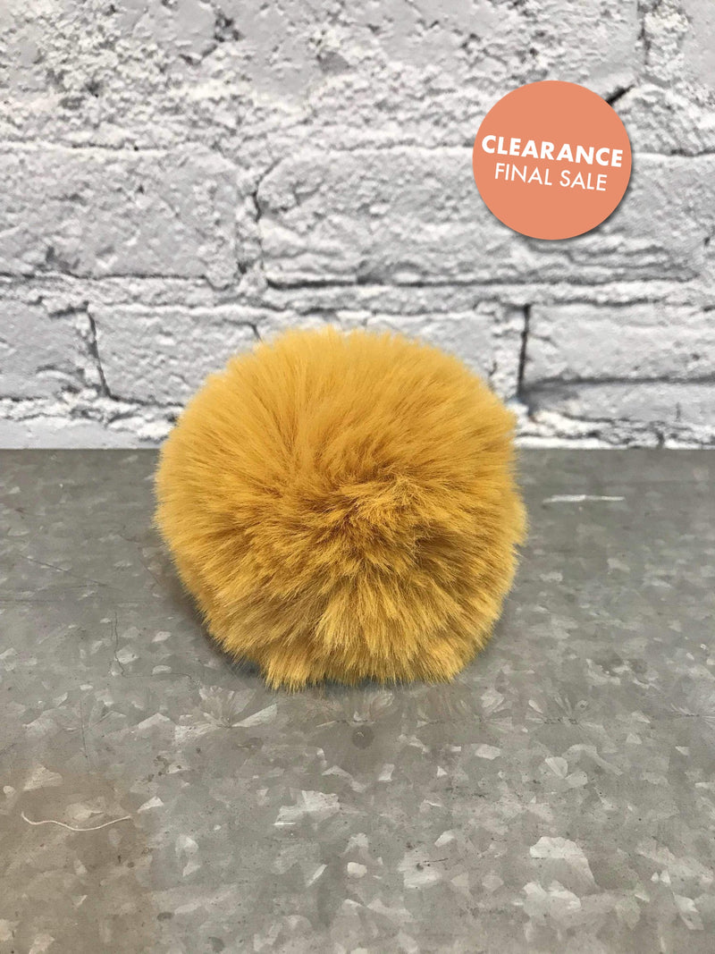 Assorted Snap Poms-Hat Accessory-Yellow Umbrella