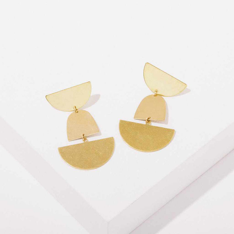 Billie Earrings-Earrings-Yellow Umbrella