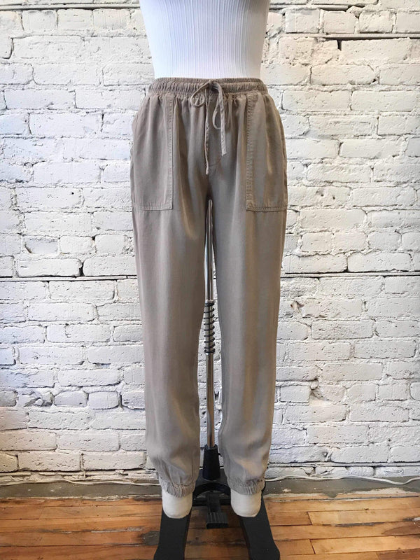 Earl Grey Serena Joggers-Pants-Yellow Umbrella