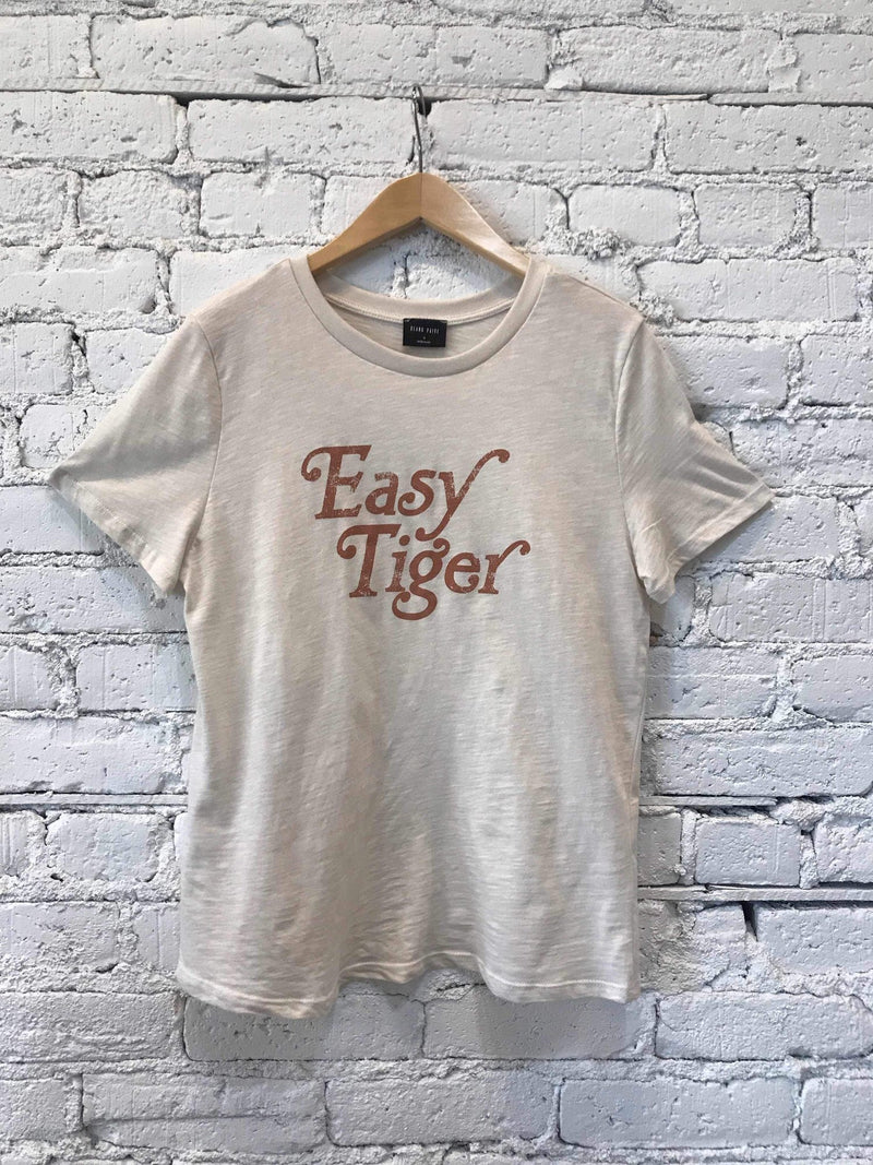 Easy Tiger Graphic Tee-Graphic Top-Yellow Umbrella