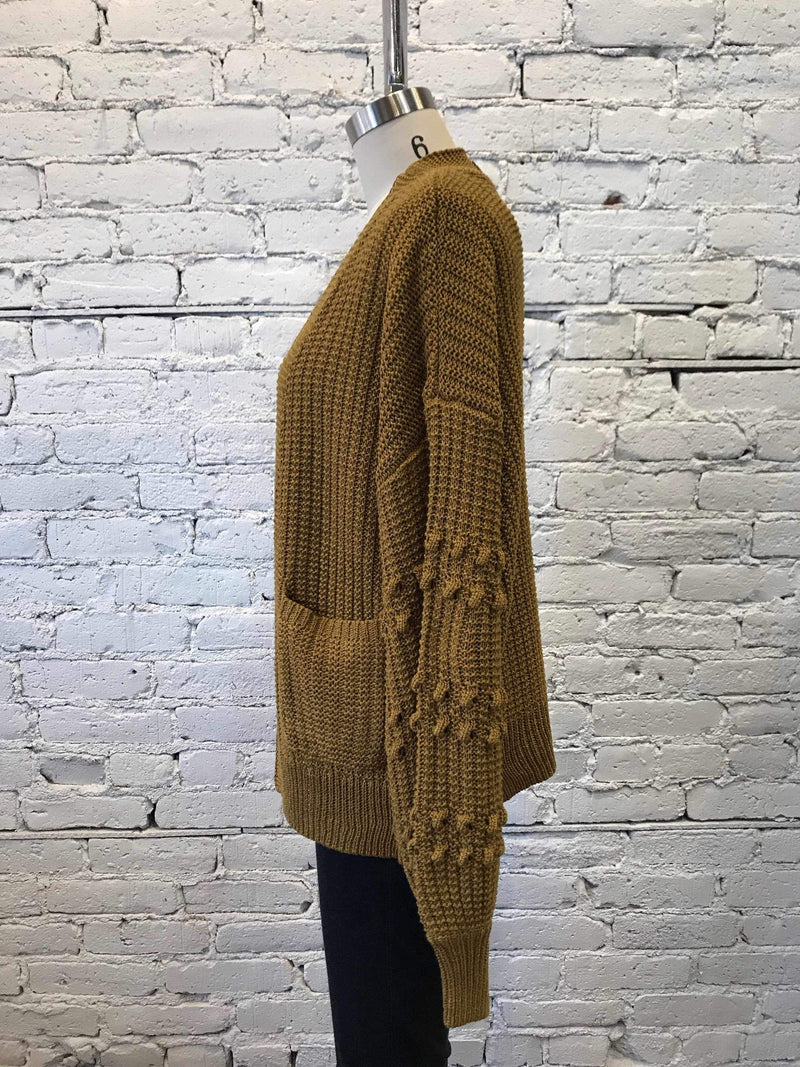 Eloise Knit Cardigan-cardigan-Yellow Umbrella