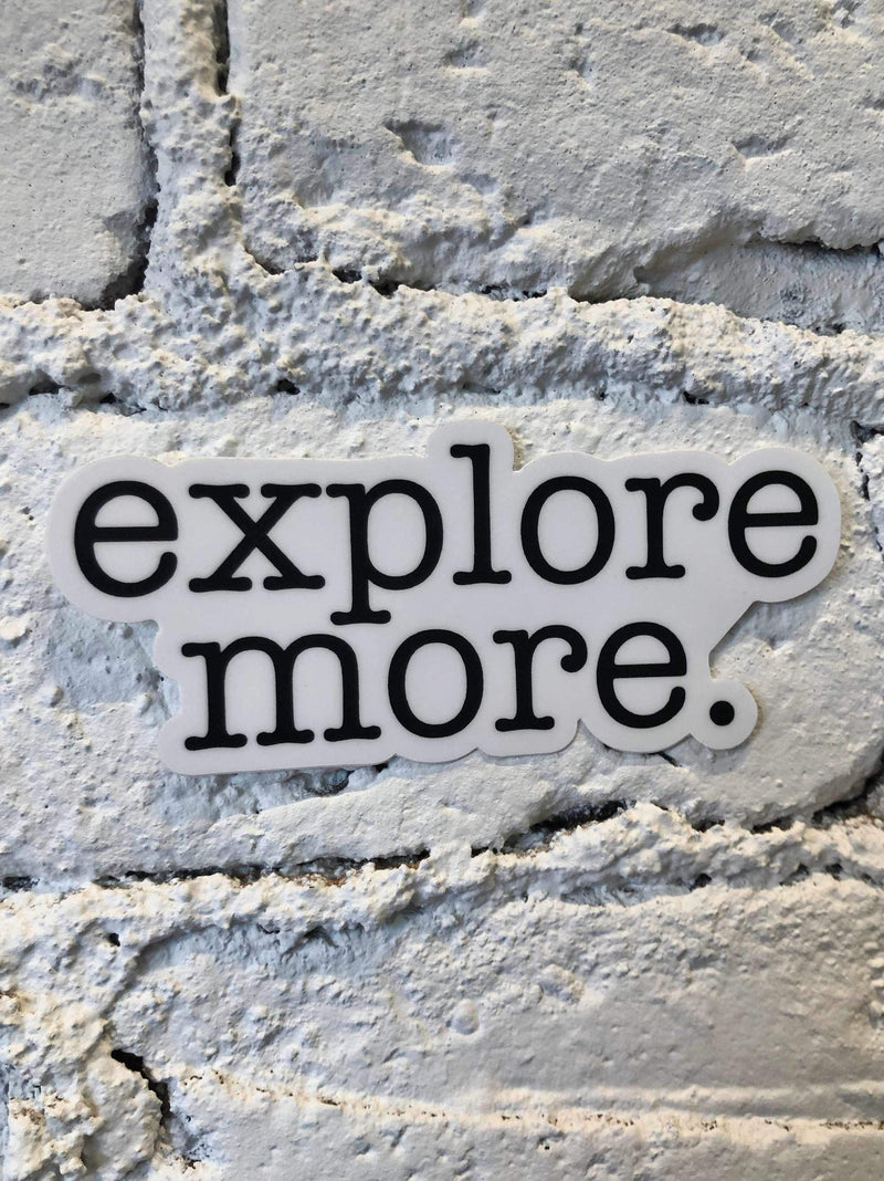 Explore More Sticker-sticker-Yellow Umbrella