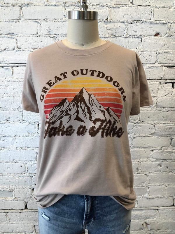 Great Outdoors, Take a Hike Tee-tee-Yellow Umbrella