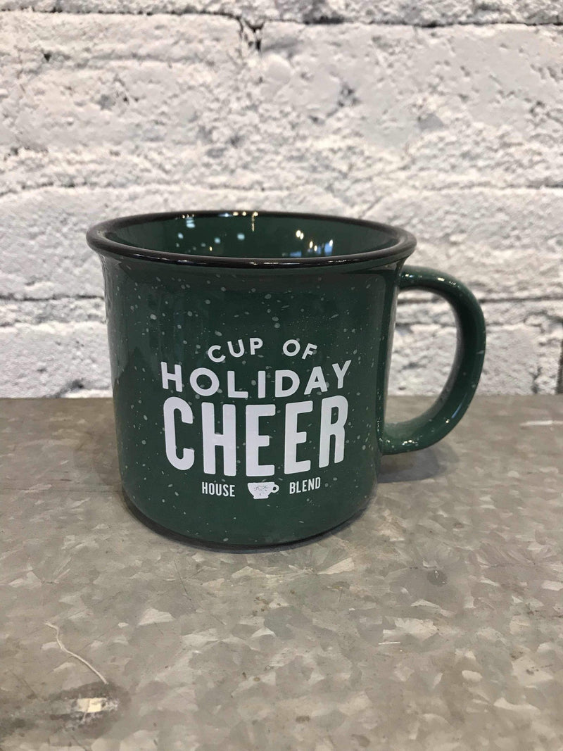 Holiday Cheer Campfire Mug-Mug-Yellow Umbrella