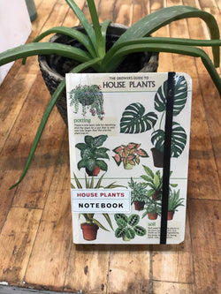 House Plants Notebook-Notebook-Yellow Umbrella