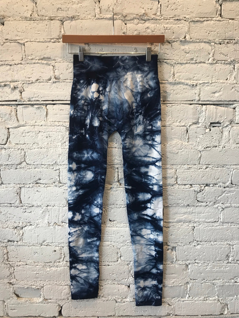 Pacific Blue Tie Dye Leggings