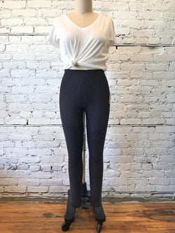 Vintage Black Moto Leggings - XL