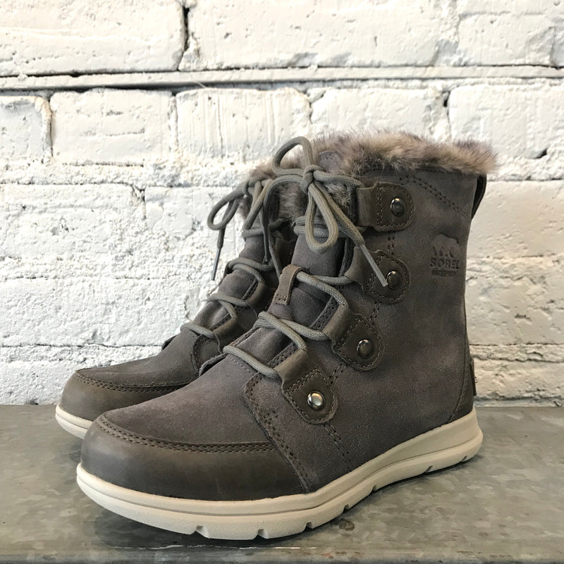 Sorel Explorer Joan Boots - Quarry Black