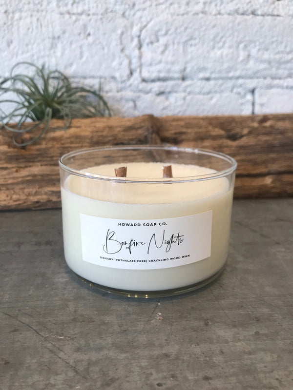 Soy Wood Wick Candle