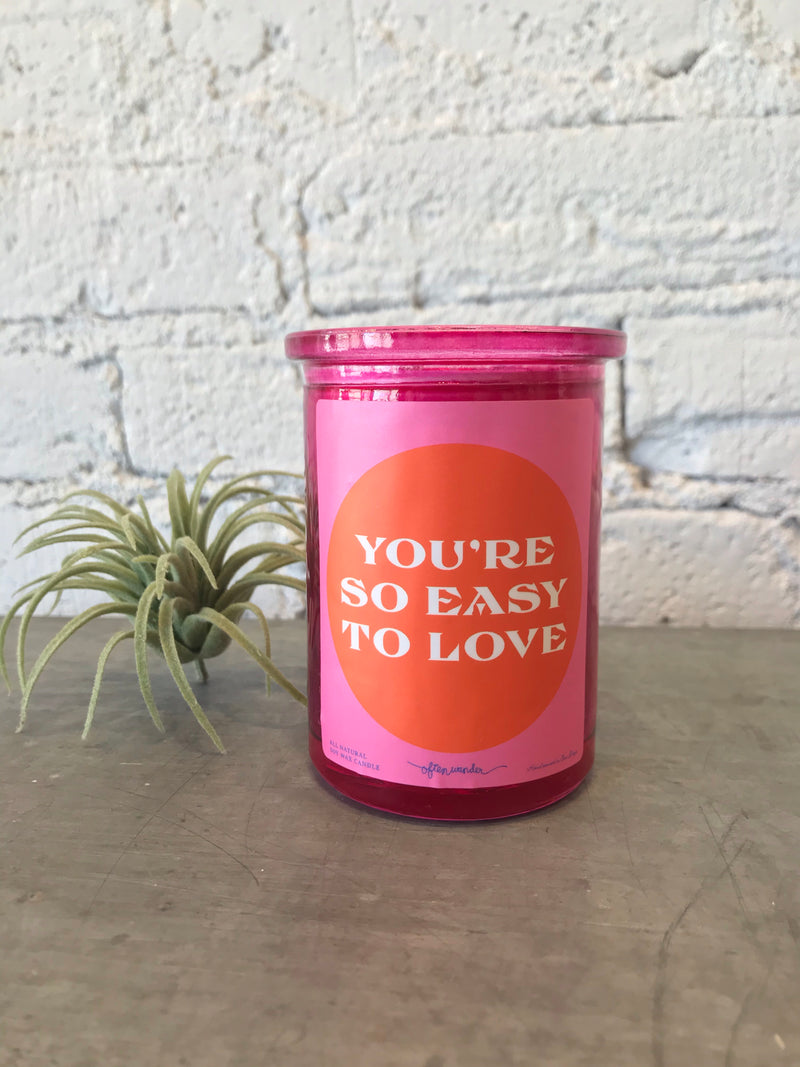 Easy to Love Candle