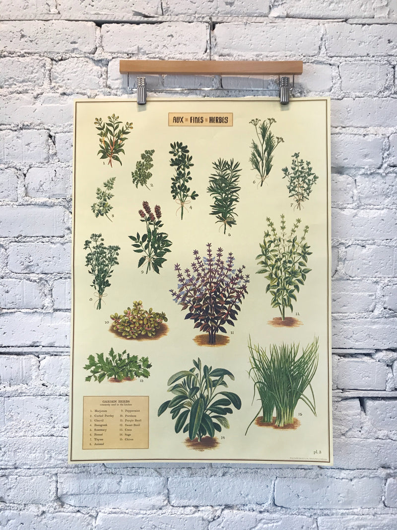 Aux Fines Herbes Poster