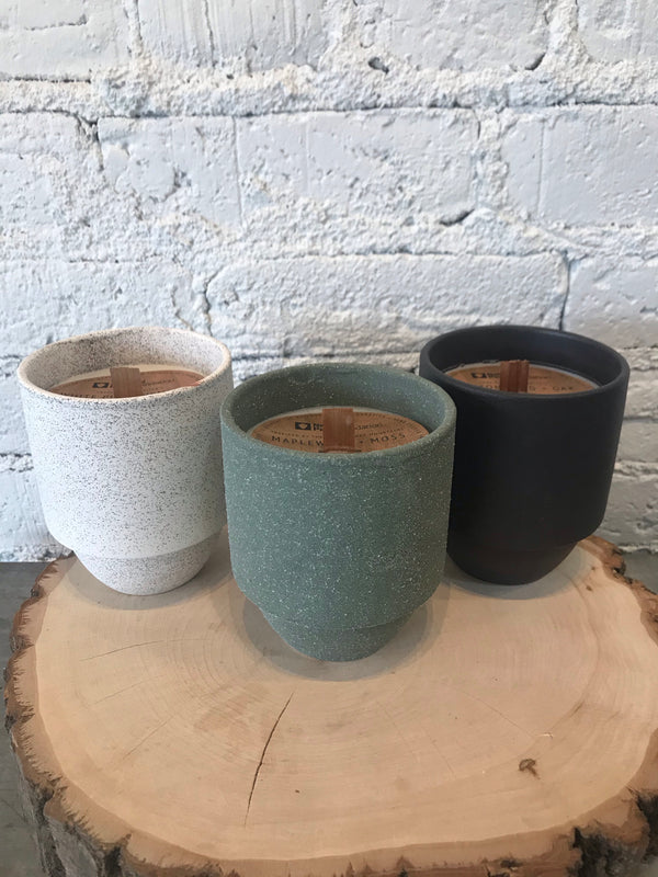 Ceramic Parks Soy Candle