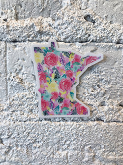 MN Bright Floral Sticker