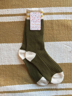 Jackson Cozy Stripe Socks-Socks-Yellow Umbrella