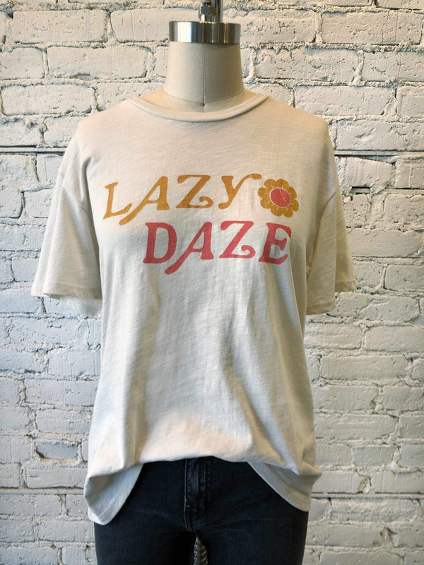 Lazy Daze T-Shirt-Tee-Yellow Umbrella
