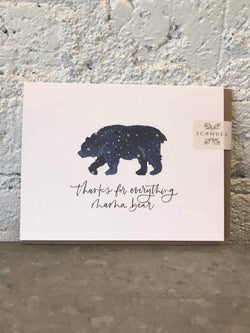 Mama Bear Card-Card-Yellow Umbrella