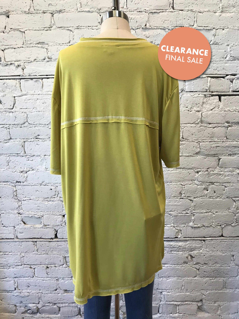 Mimosa Oversized Tee-Tee-Yellow Umbrella