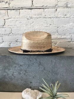 Natural Topanga Hat-Hat-Yellow Umbrella