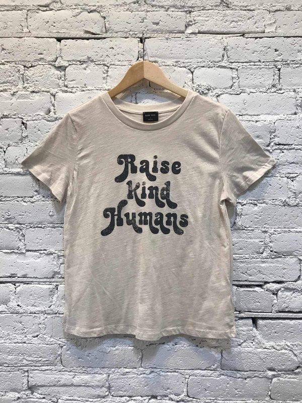 Raise Kind Humans Tee-t-shirt-Yellow Umbrella