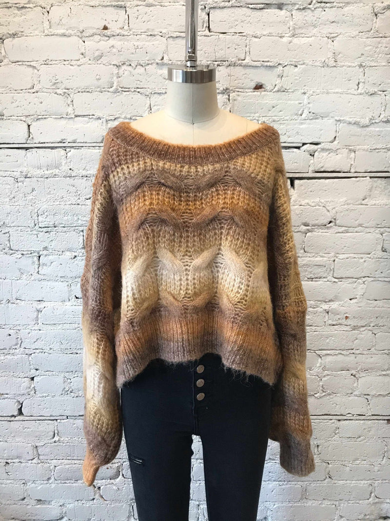 Roasted Spice Chestnut Sweater-Sweater-Yellow Umbrella