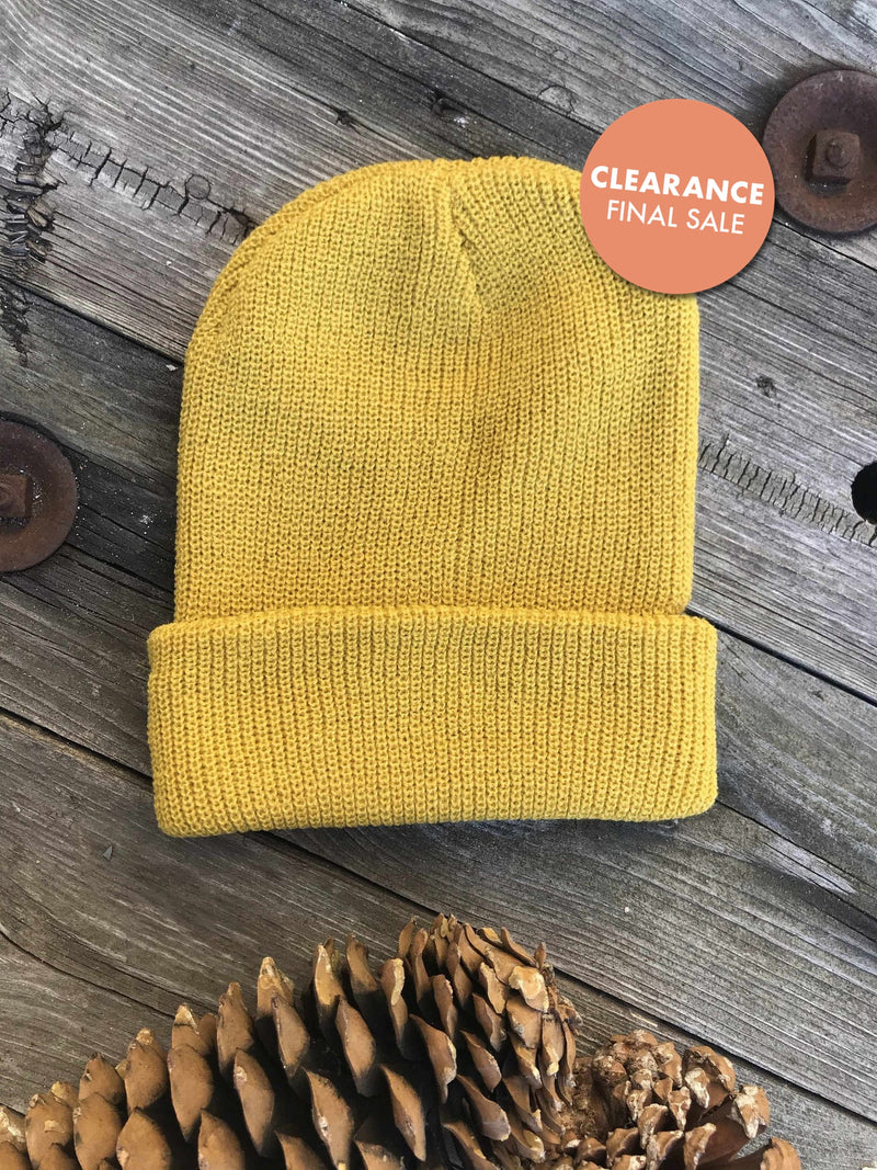 Slouchy Hipster Beanie-Winter Knits-Yellow Umbrella