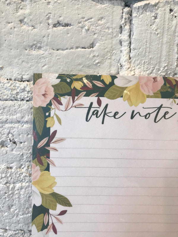 Take Notes Ambrose Notepad-Stationary-Yellow Umbrella
