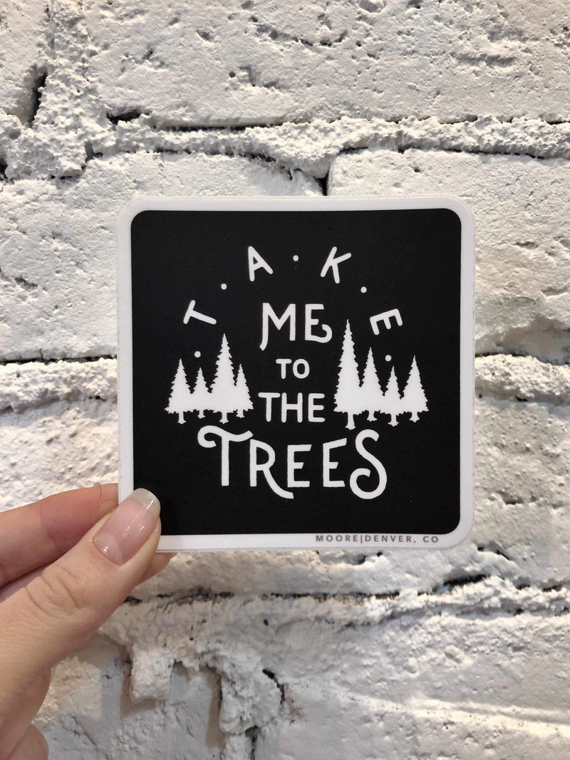 The Trees Sticker-sticker-Yellow Umbrella