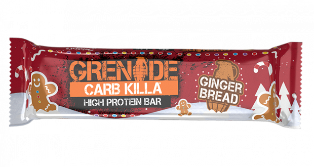Grenade Gingerbread Bar
