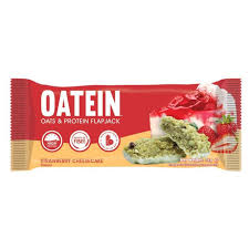 Oatein Low Sugar Flapjack Strawberry Cheesecake 70g