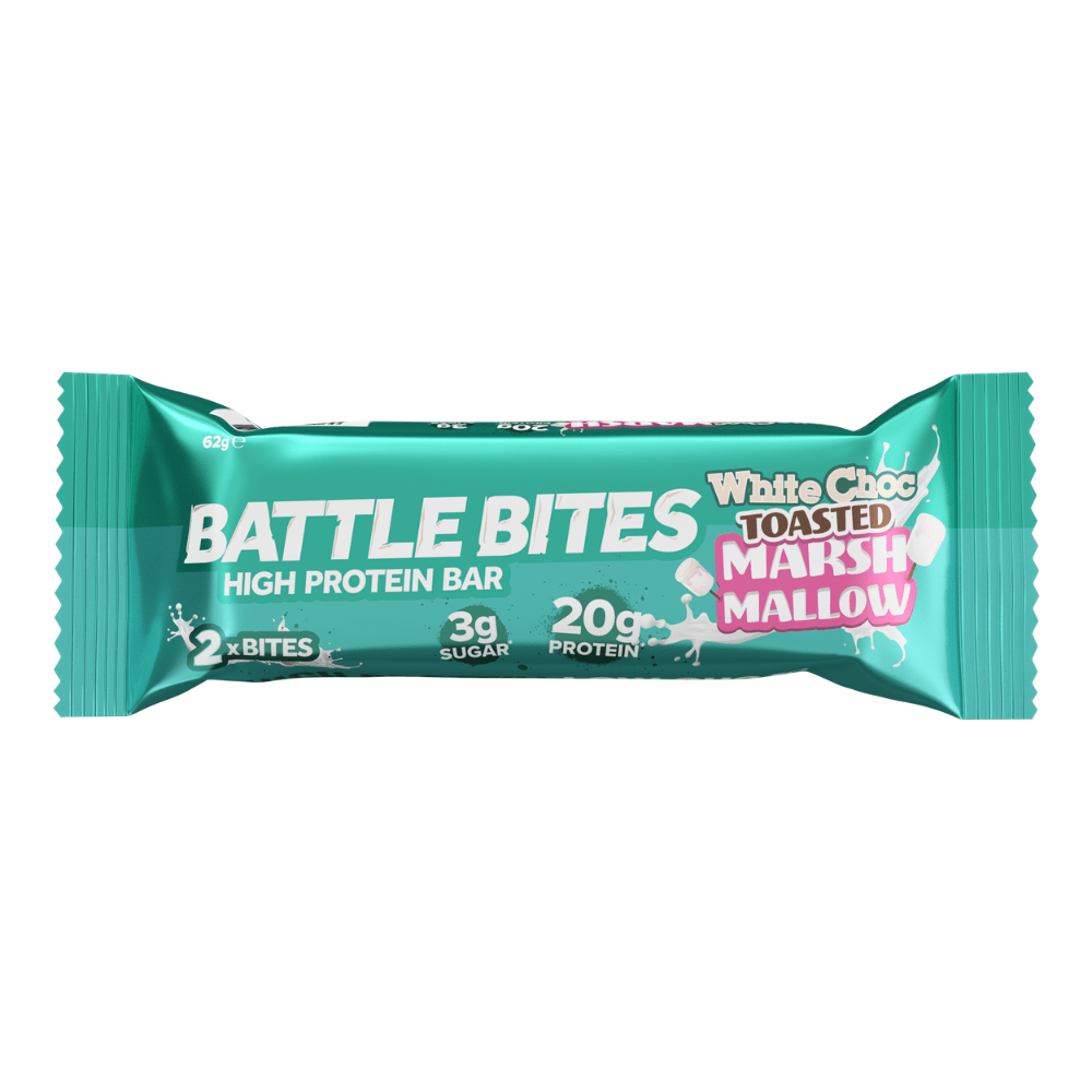 Battle Bites White Choc Marshmallow