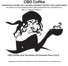 Load image into Gallery viewer, STRONGEST CBD COFFEE for sale, CBD COFFEE