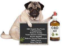 Load image into Gallery viewer, STRONGEST CBD PET OIL for sale, HEMP CBD PET OIL