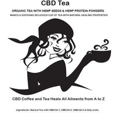 STRONGEST CBD TEAS for sale HEMP CBD GREEN TEA