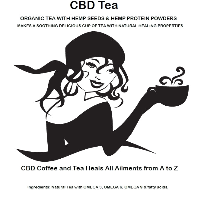 STRONGEST CBD TEAS for sale HEMP CBD BLACK TEA