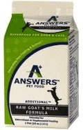 Answers Pet Raw Goat's Milk - Bakersfield Pet Food Delivery