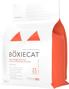 Boxiecat Extra Strength Premium Clumping Clay Cat Litter - Bakersfield Pet Food Delivery